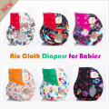 Super quality aio cloth diapers reusable baby cloth nappies,one size ai2 cloth diapers fits all for newborn to 38lbs