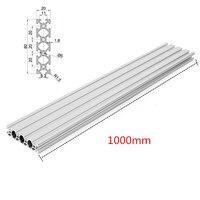 Silver 1000mm 2080 T Slot Aluminum Profiles Extrusion Frame For CNC 3D Printer Plasma Laser Stand Furniture