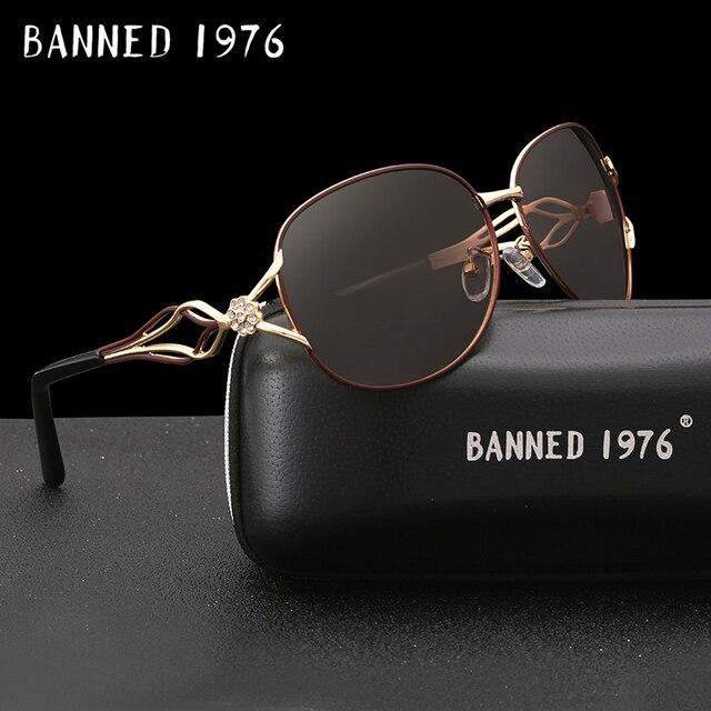 d03828f06b341 BANIDO das mulheres HD lente polarizada óculos de Sol da moda venda quente  mais novo nome