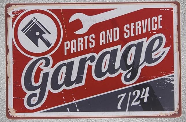 home man cave Honda Repairs Maintenance sign metalsign for garage ...