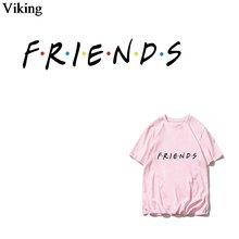 Friends tv show модные термонаклейки утюжок Гладильные наклейки