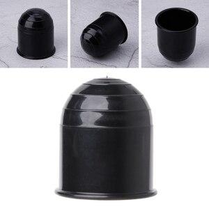 Image 2 - 범용 트레일러 액세서리 50MM 자동 견인 바 볼 커버 캡 히치 캐러밴 트레일러 견인 보호