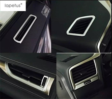 цена на Accessories ! Interior Dashboard Air Vent Outlet Cover Trim 7 Pcs For LEXUS RX 200T 450H 2016 / Matte Style