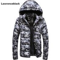 Men S Winter Jacket Warm Camouflage Jackets Men Padded Hooded Overcoat Casual Brand Down Parka Plus