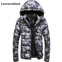 Men S Winter Jacket Warm Camouflage Jackets Men Padded Hooded Overcoat Casual Brand Down Parka Plus