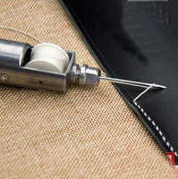 Leather craft sewing machine diy sewing kits Leather Craft Stitching Hand Sewing Tool Set for beginner