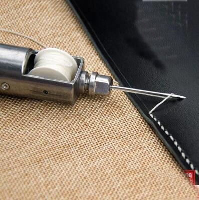 Artesanía de cuero máquina de coser costura diy kits de artesanía de cuero de costura coser a mano conjunto de herramientas para principiantes