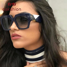 oakshion  Square Oversized Sunglasses Women Men Luxury Brand Designer Gradient Sun Glasses Famale Male Retro Eyewear Shades