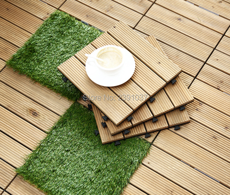 2 6cm Interlocking Flooring Tiles