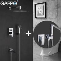 GAPPO Shower Faucets Bath Tub Taps Bathroom Shower Mixer Bidet Faucet Bidet Toilet Sprayer Tap Washers