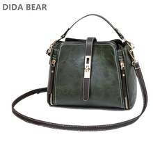 DIDABEAR Womens bag Women Leather Handbags Vintage Lady Hand Bags Wome