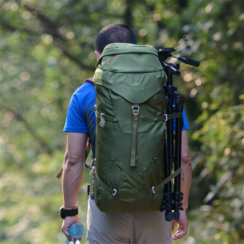 Escalada mochila al aire libre 45l telas de nylon bolsa de viaje ...