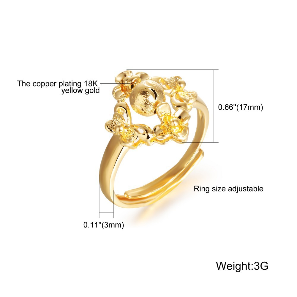 2014 latest gold ring designs for women KJ025-in Rings from ...