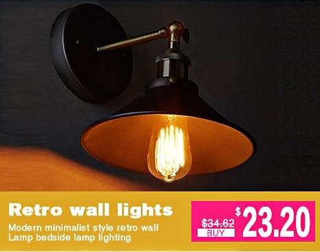 Gabbia per uccelli luce lampada da parete applique da parete