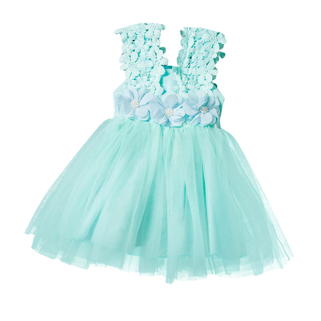 4645ed181 Girls Dress 2018 Summer New Party Dress Infant Birthday Party Dress ...