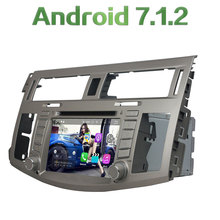 Android 7.1.2 4 ядра 2 ГБ Оперативная память 16 ГБ Встроенная память 2 DIN 3 г 4 г WI-FI мультимедийный плеер GPS навигации для Toyota Avalon 2008 2009 2010
