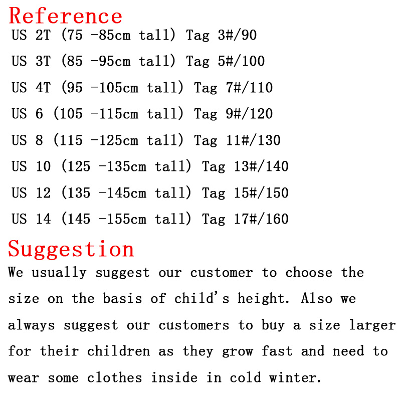 XIAOYOUYU Fur Collar Winter Boys Coats Dark Blue / Green Size 110 ...