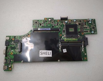 SHELI Laptop motherboard for ASUS G53SW G53SX VX7 G53S CPU REV 2.0 SLJ4P HM65 mainboard 4-Slots 100% tested good working