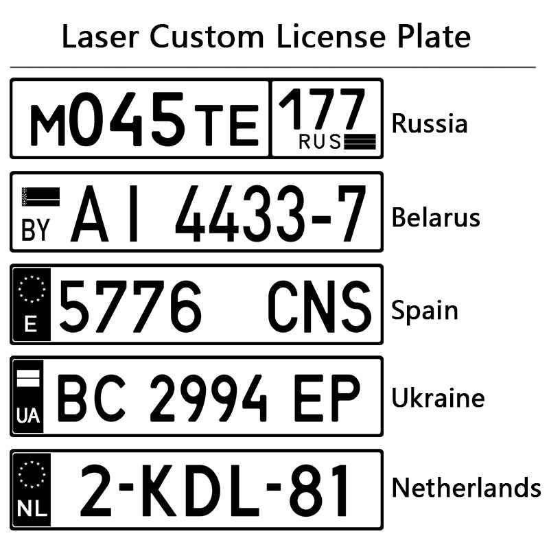 Personalizado Gravado Chaveiro Para O Logotipo Do Carro Número Da Placa Presente Personalizado Anti-perdido Chaveiro Chaveiro Anel P009C