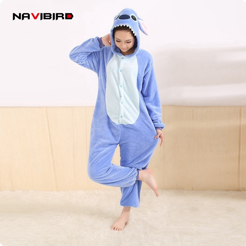 All In One Flannel Anime Pijama Cartoon Cosplay Warm Easy For Bathroom Adult Unisex Homewear Onesies