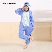 All In One Flannel Anime Pijama Cartoon Cosplay Warm Easy For Bathroom Adult Unisex Homewear Onesies