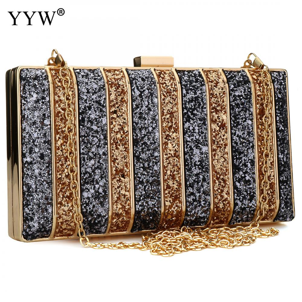 Luxury Women Bags Designer Evening Party Bag For Female Gold Mini Sequins Clutch Bag LadyS Handbag Purse Chain Crossbody BagLuxury Women Bags Designer Evening Party Bag For Female Gold Mini Sequins Clutch Bag LadyS Handbag Purse Chain Crossbody Bag