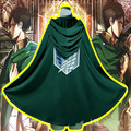 Cosplay Costume Cloak Attack on Titan Cosplay Shingeki no Kyojin Survey Corps Eren Yeager Rivaille Hoodie Cape Wings of Freedom