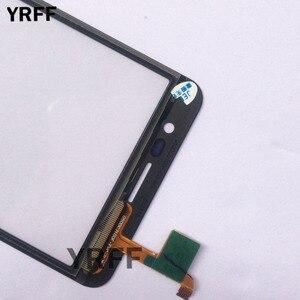 """Image 4 - 5.0 """"شاشة تعمل باللمس المحمول الزجاج الأمامي ل Homtom S12 محول الأرقام بشاشة تعمل بلمس الزجاج لوحة استبدال S12 الاستشعار لمس مناديل"""