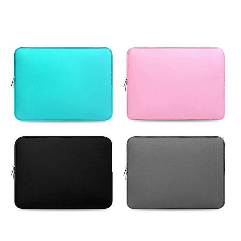 Pochette d'ordinateur souple pour Macbook air Pro Retina 11 12 13 14 15 15.6 housse housse pour xiaomi Dell Lenovo ordinateur portable ordinateur portable
