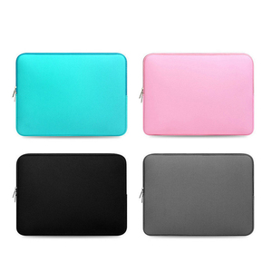 Image 5 - Soft Laptop Bag for Macbook air Pro Retina 11 12 13 14 15 15.6 Sleeve Case Cover For xiaomi Dell Lenovo Notebook Computer Laptop