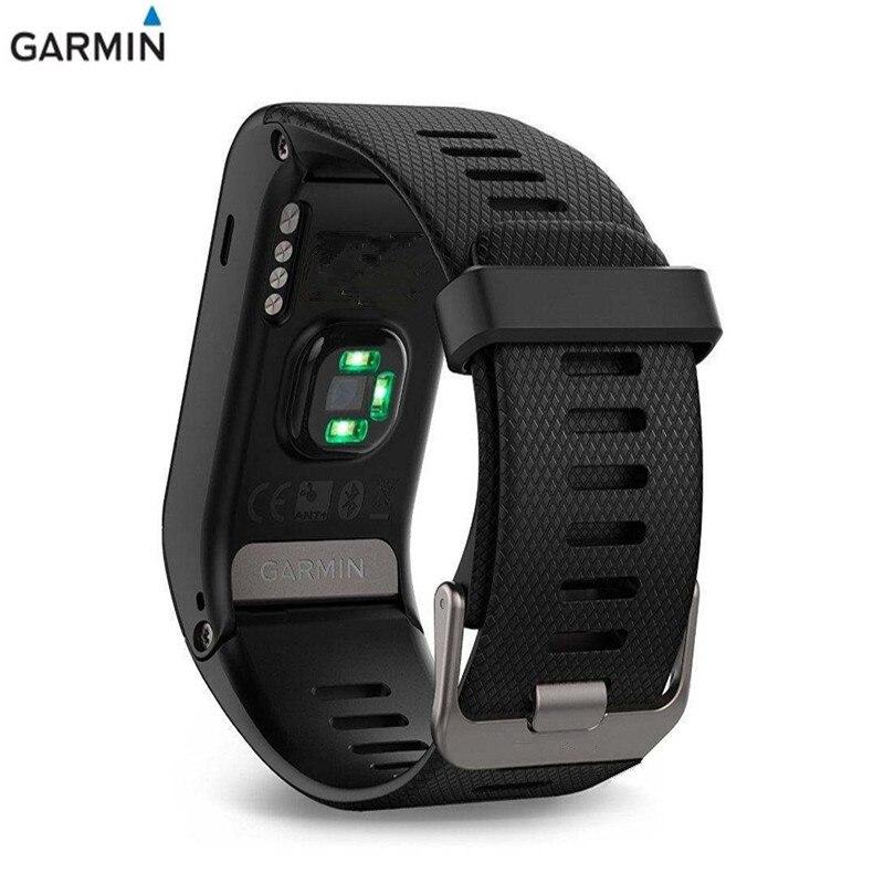 Garmin vivoactive HR Триатлон Плавание гольф для верховой езды Run мониторинга сердечного ритма информация напоминать S50M водонепроницаемый умные час...