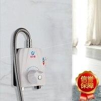 Weiß ABS Thermostatischer Hahn Badewanne und Dusche Mixer Ventil mit Wasser Fütterung Funktion HH-31 Einzelhandel und Großhandel