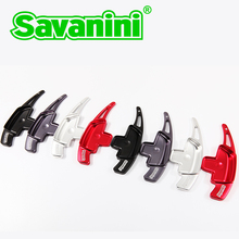 Savaini Brand New 2pcs High Quality Aluminum Steering Wheel Shift Paddle Shifter Extension For Benz cars you can disign logo