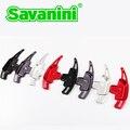 Savaini Nova Marca 2 pcs de Alta Qualidade Alumínio Volante Paddle Shift Extensão Shifter Para Benz A B C E CIA GLA W205 W212