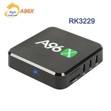 Malvavisco RK3229 A96X Android TV Box Quad Core Android HDMI 2.0 2.4G WIFI 2 K 4 K CAJA HD CUADRO de Reproductor de Medios