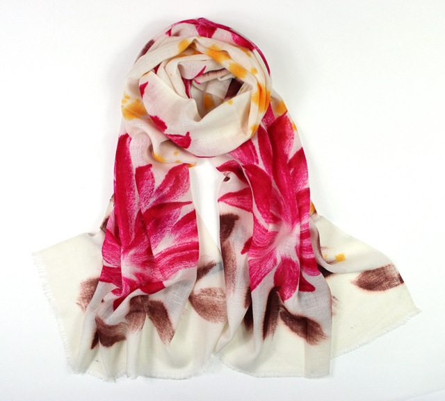Cashmere scarf 2016,flower wrap,floral hijab,wool scarf,pashmina cashmere,shawls and scarves,ponchos,cape,bandana,wraps shawls