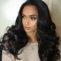 Cheap Peruvian Body Wave Lace Front Human Hair Wigs For Black Women 130% Density Peruvian Virgin Hair Body Wave Lace Front Wig