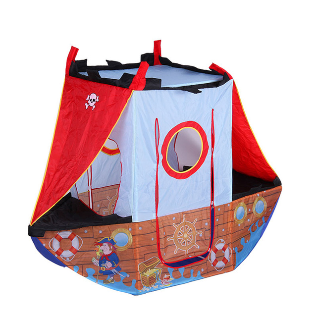 Pirate Ship Tent Kids Toddlers Role Play Game Indoor Outdoor Portable u0026 Foldable Children Game Pop  sc 1 st  AliExpress.com & Pirate Ship Tent Kids Toddlers Role Play Game Indoor Outdoor ...