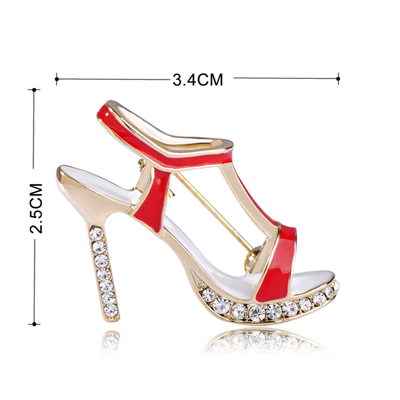High Heel Shoes Brooch 1