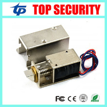 Free shipping electric cabinet lock fail security door lock 12V min electronic access control lock good quality electric lock