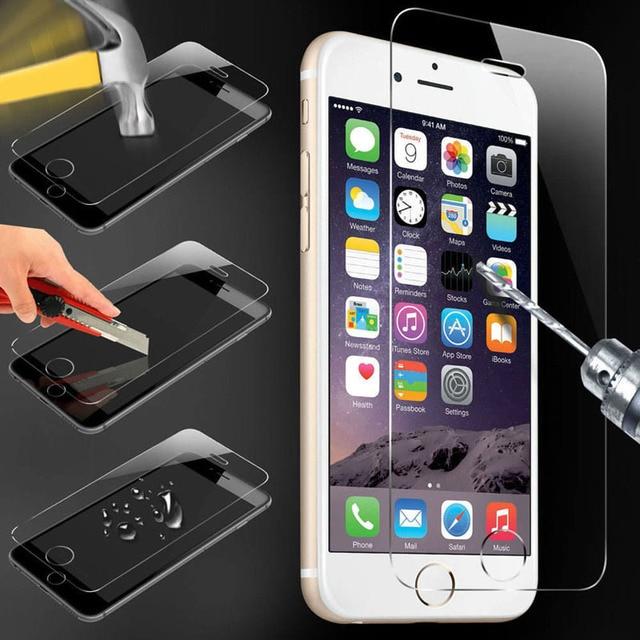 Szkło hartowane iPhone 4s 5 5s 5c SE 6 6s plus 7 plus