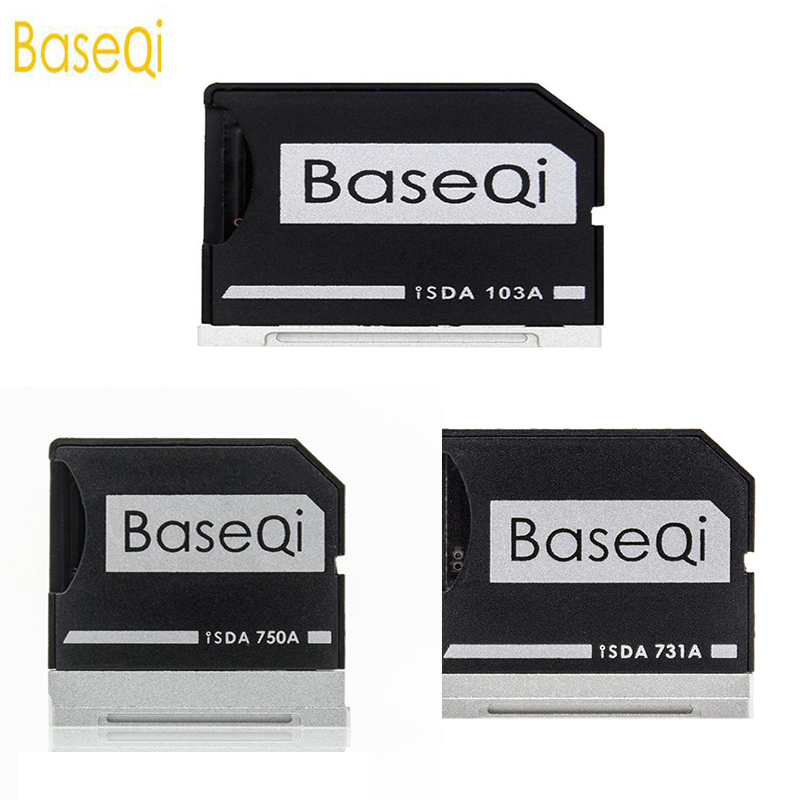 BaseQi Aluminum MiniDrive Internal Micro SD Adapter For Dell XPS 15 and Dell XPS 13