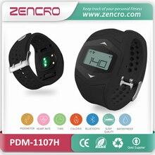 ไร้สายกีฬานาฬิกาชีพจรH Eart Rate Monitor BLEสมาร์ทฟิตเนสติดตามสายรัดข้อมือ