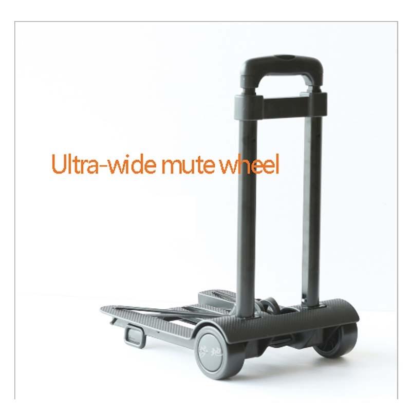 Auto Parts High-End Fashion Travel Folding Luggage Cart Car Trolley Wheelbarrow Easy To Deploy