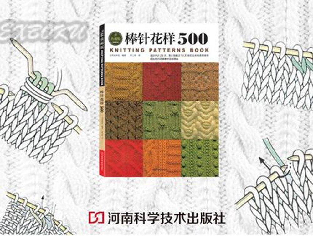 Chinesische stricknadel buch anfänger selbst lernende mit 500 ...