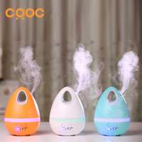CRDC 200ML Air Humidifier Aroma Diffuser With Colorful Light Ultrasonic Mist Maker Essential Oil Fogger For