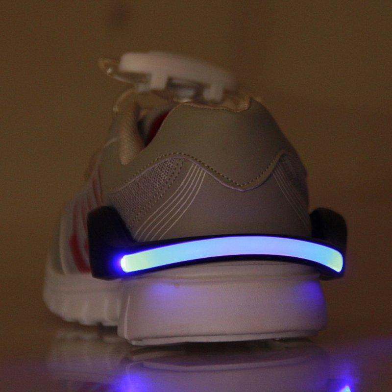LED Luminous Shoe Clip Light Night Safety Warning LED Bright Flash Light For Running Cycling Bike New