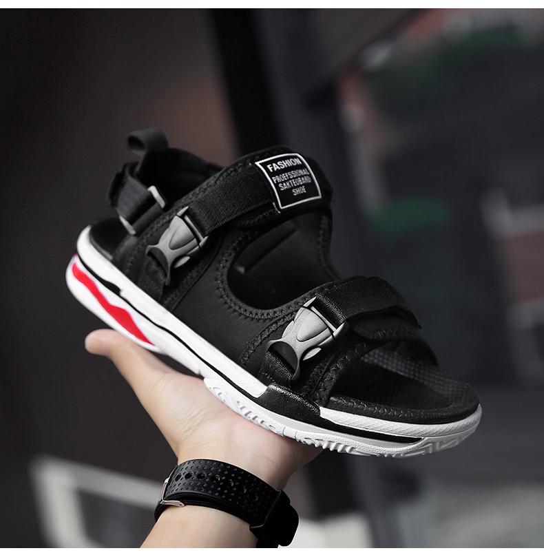 Man Beach Sandals Summer Gladiator Men's Outdoor Shoes Roman Men Casual Shoe Light Flip Flops Slippers Fashion Sandals Casuals 21