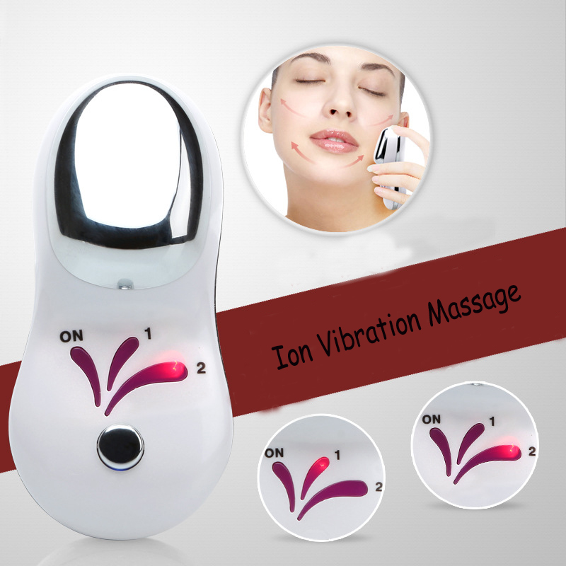 Ion Vibration Massage Mini Machine High Quality Face Natural Message Electric Face Beauty Skin Care Facial Muscle Stimulator 2017 electric facial natural fruit milk mask machine automatic face mask maker diy beauty skin body care tool include collagen