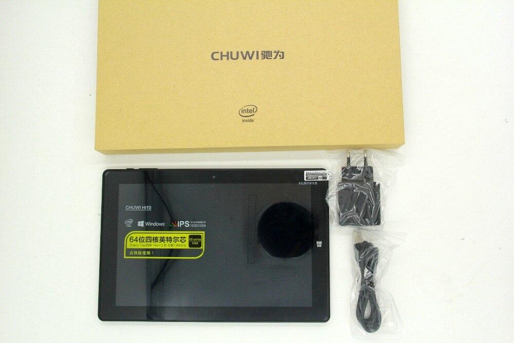 IN STOCK 10.1 Inch 1920*1200 Chuwi HI10 Windows 10 Tablet PC Cherry Trail-T3 Z8300 Quad Core 4GB RAM 64GB ROM HDMI Dual Camera